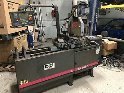 Dake MEP Tiger 350CNC FE Ferrous Cold Saw (under power) (Video available)