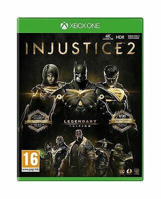 Injustice 2 Legendary (XBOX ONE VIDEO GAME) *NEW/SEALED* 5051892213868, FREE P&P