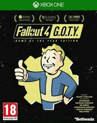 Fallout 4 GOTY Game Of The Year Edition (XBOX ONE VIDEO GAME) *NEW/SEALED*