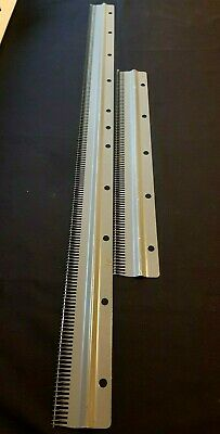 4) Silver Reed Knitmaster Knitting Machine Parts 4.5Mm Standard Cast On Comb Set