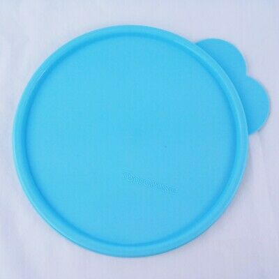 Tupperware C 2541 Seal Replacement Lid With Large Tab Light Blue