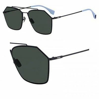 c6ea998d65e FENDI MEN FENDI Fantastic FF M0012 KB7 Grey Plastic Round Sunglasses ...