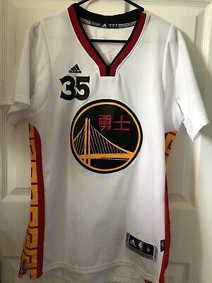 size 40 dbe66 5fb26 KEVIN DURANT GOLDEN State Warriors Chinese New Year Jersey L ...