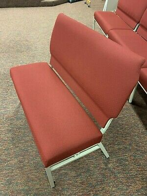 Interlocking Padded Benches and Chairs