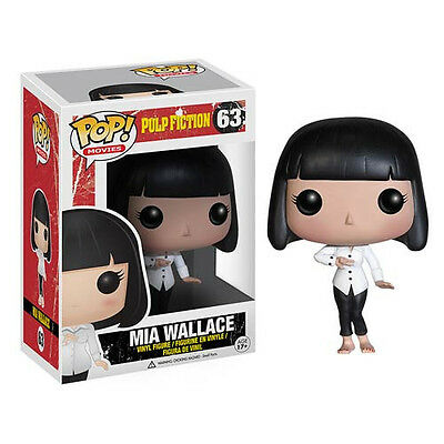 FUNKO POP 2013 MOVIES PULP FICTION MIA WALLACE #63 Sealed Figure IN STOCK