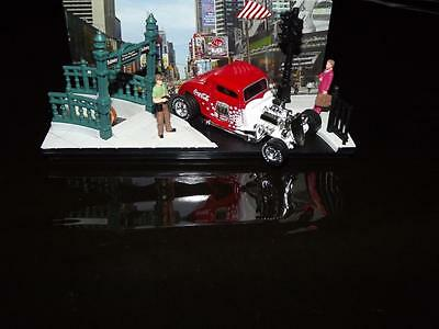 1997 -1933  Ford Coupe Muscle Car With Real Rubber Tires & Coca-Cola Logo!
