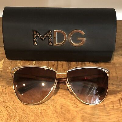 bd6517bb4ab6 Madonna Dolce & Gabbana Sunglasses MDG 2087 Silver Gold Colors Limited  Edition