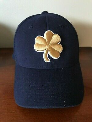 369c12357f Flex Fit Notre Dame Fighting Irish Top of the World Fitted Hat Shamrock Gold