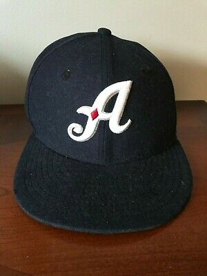 f5941c315c24a Reno Aces New Era 59fifty Hat Sz 7 Navy Minor League Baseball Fitted