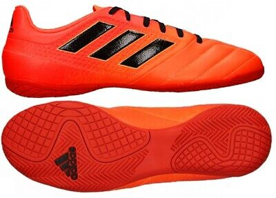 e984ebfd8 Adidas New Men's Size 11 Ace 17.4 Indoor Soccer Shoes Orange Solar Red  S77101