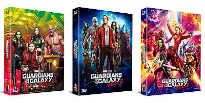 Guardians Of The Galaxy Vol.2 - Blu-ray Steelbook Full Slip, Lenticuar / 2D & 3D