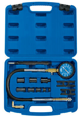Draper 35877 | Commercial Vehicle Diesel Compression Test Kit (13 Piece) CTED1-E