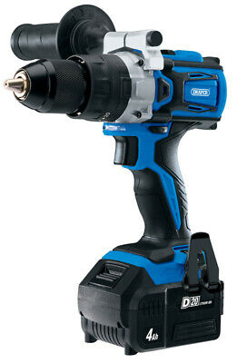 Draper 79894   D20 20V Brushless Combi Drill with 4Ah Battery and Fast Charger