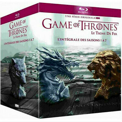 Game Of Thrones: Seasons 1-7 Blu-Ray Box Set The Complete Series DVD New