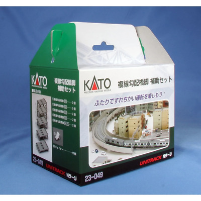 Kato N Double Track Piers Add On Set 23-049 Brand New