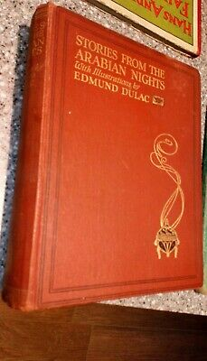Stories from the Arabian Nights HB Book Laurence Housman 20 Edmund Dulac Plates