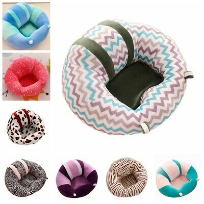 Kid Baby Support Seat Cotton Soft Chair Car Cushion Sofa Plush Pillow Toy