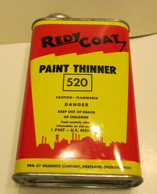 ANTIQUE COLONY PAINTS Universal Paint Thinner Can Cone Top