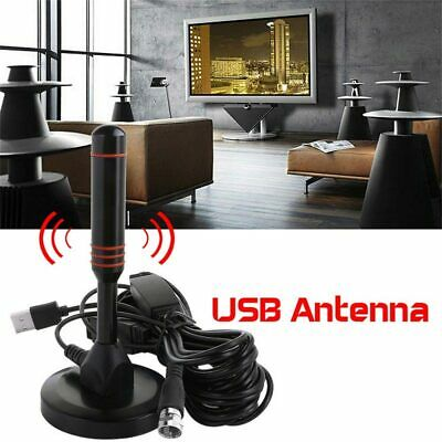 Indoor Digital TV Antenna 200 Miles Range HD 1080P Signal Booster Amplifier HDTV