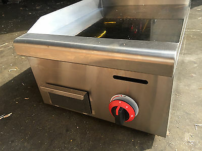 Gas Griddle, Chrome Plated, 450mm