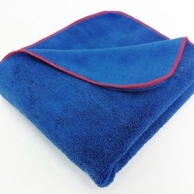 Autobrite Deluxe Fluffy Drying Towel Microfibre Car Detailing Valeting 3ft x 2ft