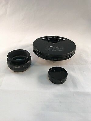 Nikon Microscope ELWD 0.3 Phase Contrast 2 Condenser For  Diaphot TMD