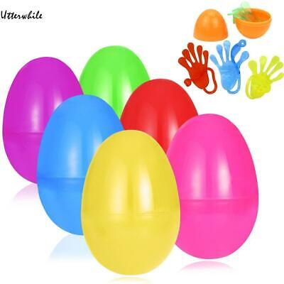 Kids Easter Eggs Filled with Mini Sticky Hand Easter Party Children Toy U8HE 02