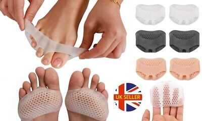 1 Pair of Silicone Breathable Forefoot Insoles Metatarsal Pads Foot Cushion