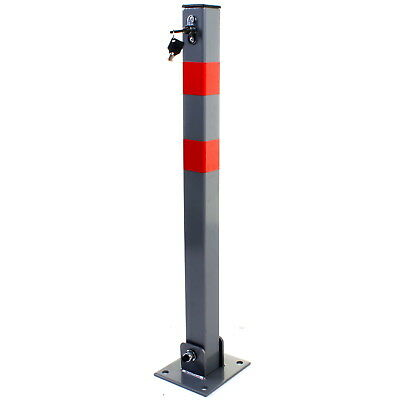 Parking Barrier Folding Car Park Bollard Vehicle Security Safety Driveway Post