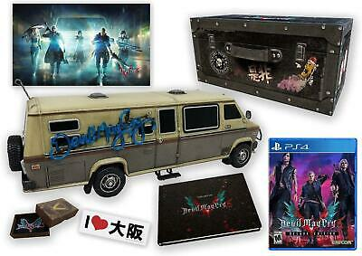 Devil May Cry 5 edition Collector Motorhome EN STOCK Playstation 4 RARE