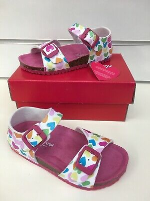 Agatha Ruiz De La Prada Girl Summer Sandals with Heart Print (New Style) 192980