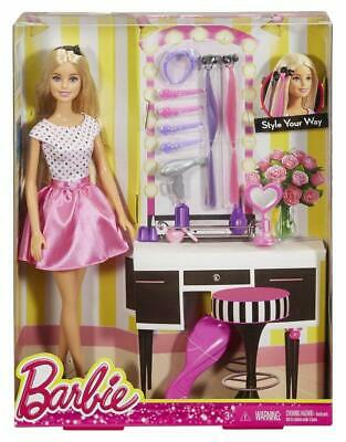 Barbie Doll and Playset, Multi Color Free Shipping Toy Gift Kids
