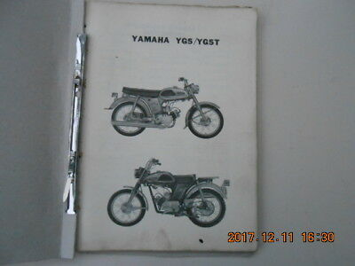 yamaha . yg5 . yg5t . yg 5 . yg 5 t . parts list