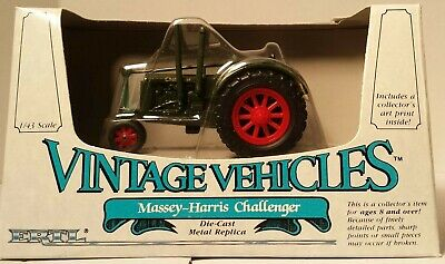 Vintage Vehicles by Ertl #2511 Massey-Harris Challenger NEVER DISPLAYED