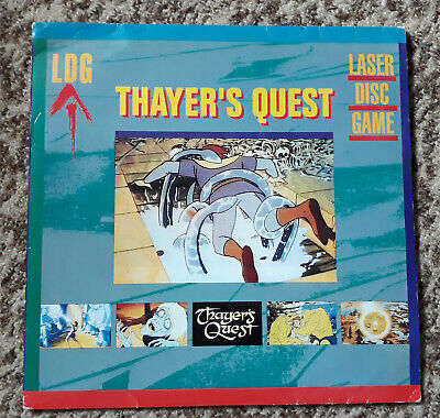 new Thayer's Quest pal laser disc game (not dragon's lair space ace don bluth)