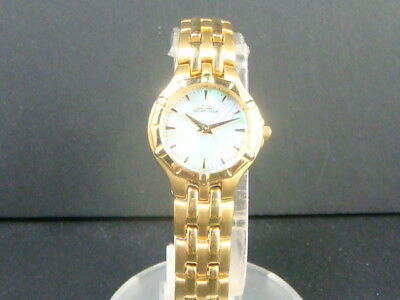 Citizen Eco-Drive women's Gold tone Stainless Steel watch with beautiful dial