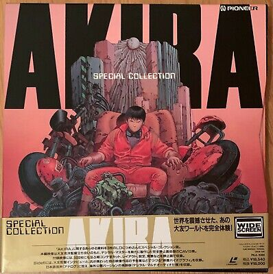 Akira Special Edition Pioneer ( 3 Laserdisc ) Laserdisc Japan With Obi And Box