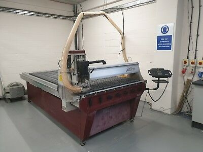 Gerber Sabre 408 CNC Router (1350 mm x 2565 mm) ACTIVE CUTTING AREA