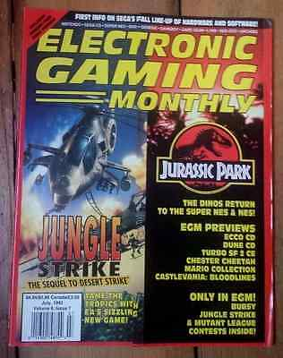 Electronic Gaming Monthly july 1993, volume 6, issue 7