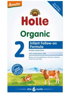 Holle Stage 2 Organic Formula Baby Milk USA Seller 600g- 6 boxes