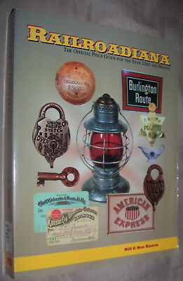Railroadiana Official Price Guide 2000 1st Edition Bill&Sue Knous Paperback Book