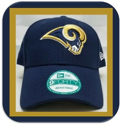 online store 39593 b0fb5 Los Angeles Rams New Era The League 9FORTY Adjustable Hat Navy  Brand New