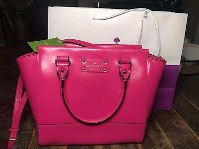 e5af9690fd94d AUTHENTIC KATE SPADE Wellesley Small Camryn Pink NWT -  159.00 ...