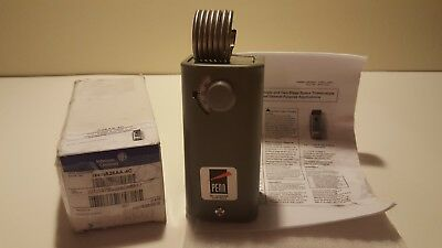 New Johnson Controls A28AA-4C 2-Stage Space Thermostat, 30-110 Deg F,SPDT Switch