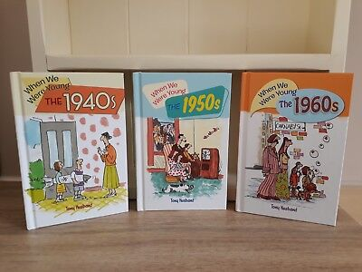 Collection of 3 x Humorous Books by Tony Husband - The 40s, 50s, 60s - EXCELLENT