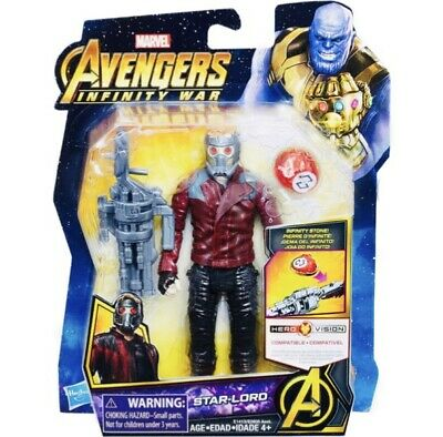 Marvel Avengers Infinity War 6 Inch Star-Lord Figure With Infinity Stone UK