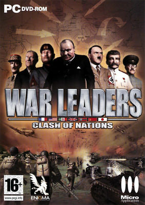War leaders : Clash of Nations  JEU PC NEUF