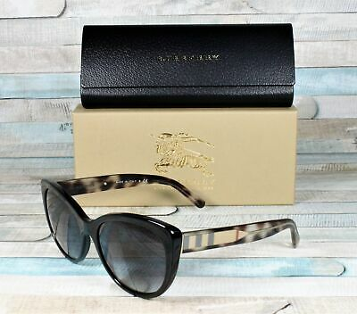 ba67a522be75c BURBERRY BE4224-30018G BLACK gray gradient 56 mm Women s Sunglasses ...