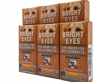 Ethos Super Antioxidant Cataract Improvement Eye Drops for Dogs 6 Boxes 60ml