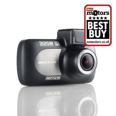 iN-CAR CAM™ 312GW Dash Cam | NEXTBASE   - DVR Video Recorder for Car - Grade A